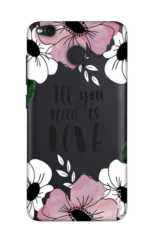 All You Need is Love Xiaomi RedMi 4 Cases & Covers Online