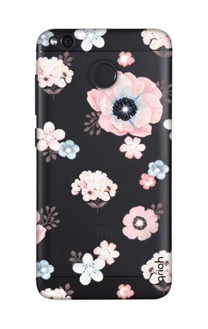 Beautiful White Floral Xiaomi RedMi 4 Cases & Covers Online