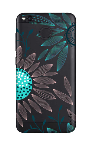 Pink And Blue Petals Xiaomi RedMi 4 Cases & Covers Online