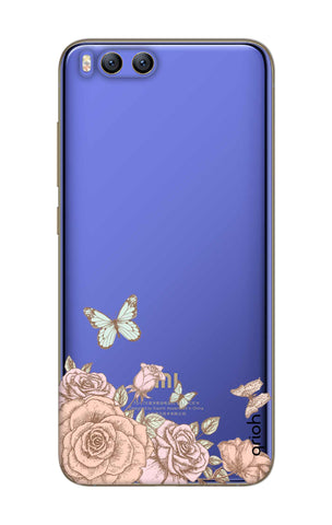 Flower And Butterfly Xiaomi Mi 6 Cases & Covers Online