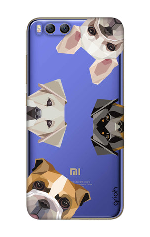 Geometric Dogs Xiaomi Mi 6 Cases & Covers Online