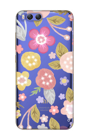 Multi Coloured Bling Floral Xiaomi Mi 6 Cases & Covers Online