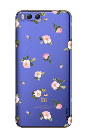 Pink Rose All Over Xiaomi Mi 6 Cases & Covers Online