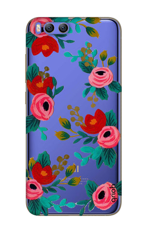 Red Floral Xiaomi Mi 6 Cases & Covers Online