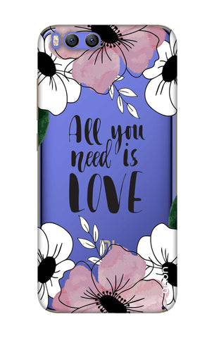 All You Need is Love Xiaomi Mi 6 Cases & Covers Online