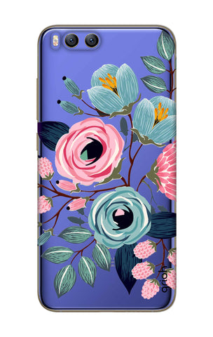 Pink And Blue Floral Xiaomi Mi 6 Cases & Covers Online