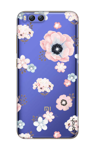 Beautiful White Floral Xiaomi Mi 6 Cases & Covers Online
