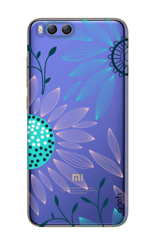 Pink And Blue Petals Xiaomi Mi 6 Cases & Covers Online