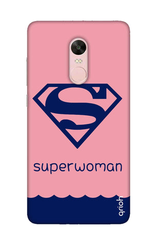 Be a Superwoman Xiaomi RedMi Note 4X Cases & Covers Online