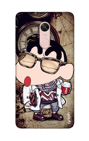 Nerdy Shinchan Xiaomi RedMi Note 4X Cases & Covers Online