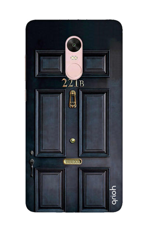 Baker Street Door Xiaomi RedMi Note 4X Cases & Covers Online
