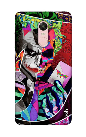 Color Pop Joker Xiaomi RedMi Note 4X Cases & Covers Online