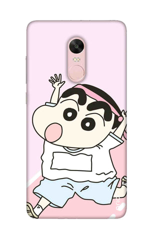 Running Cartoon Xiaomi RedMi Note 4X Cases & Covers Online