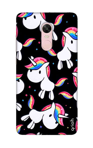 Colourful Unicorn Xiaomi RedMi Note 4X Cases & Covers Online