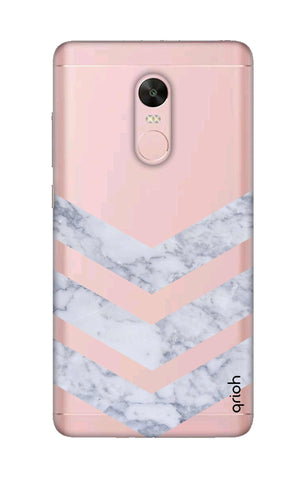 Marble Chevron Xiaomi RedMi Note 4X Cases & Covers Online