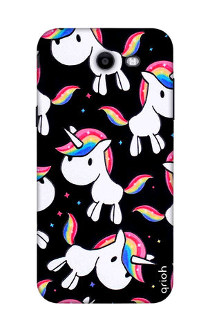 Colourful Unicorn Samsung J7 2017 Cases & Covers Online