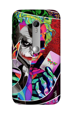 Color Pop Joker Motorola Moto G3 Cases & Covers Online