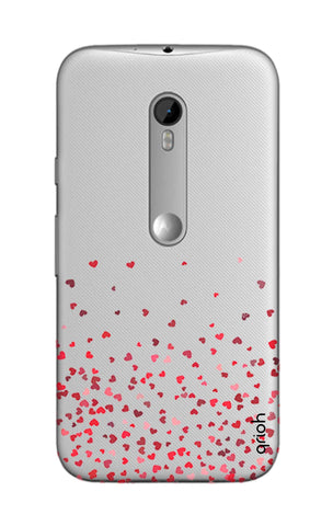 Floating Hearts Motorola Moto G3 Cases & Covers Online