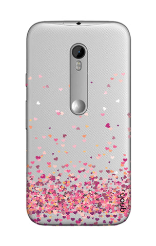 Cluster Of Hearts Motorola Moto G3 Cases & Covers Online