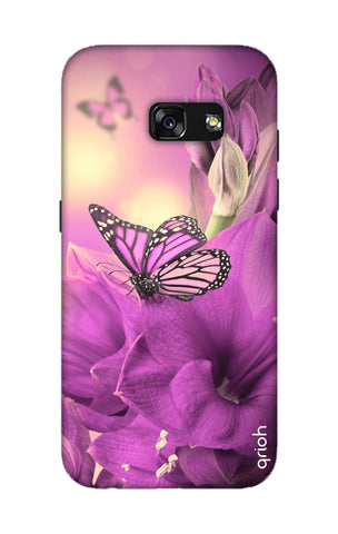 Purple Butterfly Samsung A3 2017 Cases & Covers Online