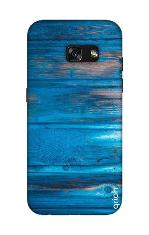 Blue Wooden Samsung A3 2017 Cases & Covers Online
