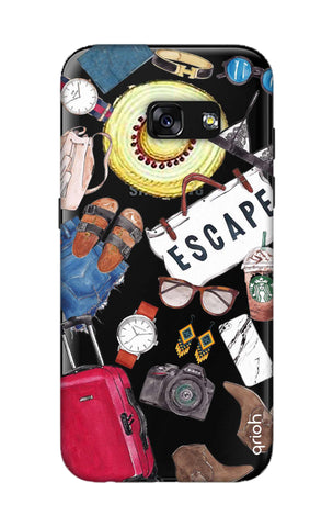 Travel Doodle Samsung A3 2017 Cases & Covers Online