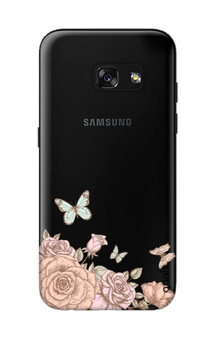 Flower And Butterfly Samsung A3 2017 Cases & Covers Online