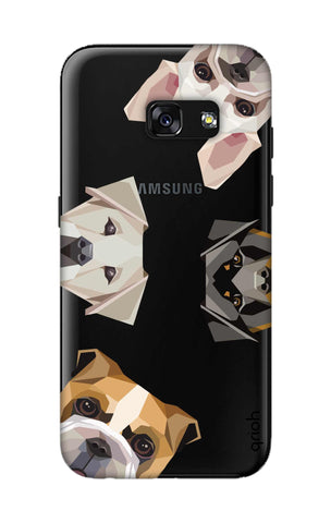 Geometric Dogs Samsung A3 2017 Cases & Covers Online