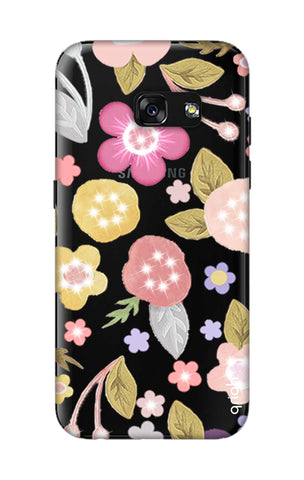 Multi Coloured Bling Floral Samsung A3 2017 Cases & Covers Online