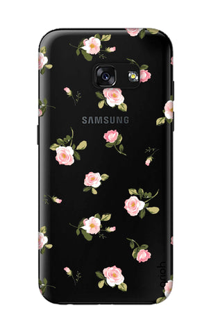 Pink Rose All Over Samsung A3 2017 Cases & Covers Online