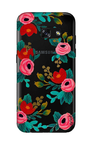 Red Floral Samsung A3 2017 Cases & Covers Online