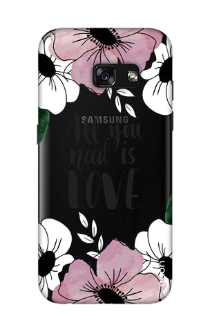 All You Need is Love Samsung A3 2017 Cases & Covers Online