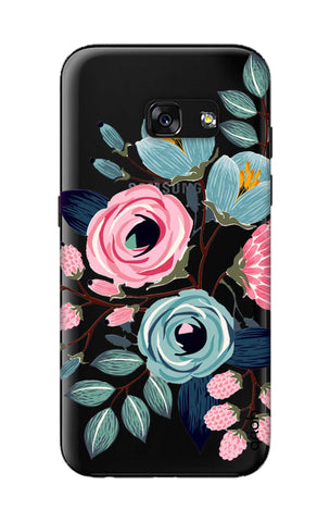 Pink And Blue Floral Samsung A3 2017 Cases & Covers Online