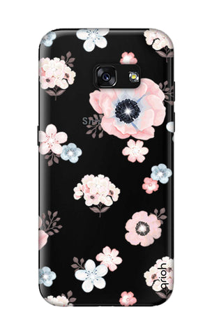 Beautiful White Floral Samsung A3 2017 Cases & Covers Online