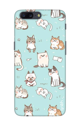 Cat Kingdom OnePlus 5 Cases & Covers Online