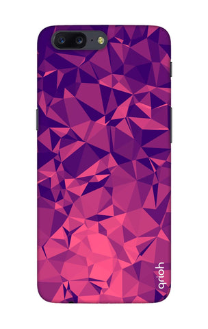 Purple Diamond OnePlus 5 Cases & Covers Online