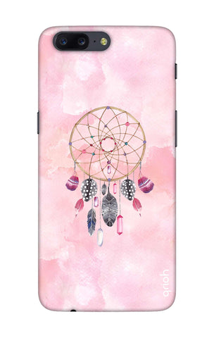 Pink Dreamcatcher OnePlus 5 Cases & Covers Online