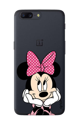 Minnie In Deep Thinking OnePlus 5 Cases & Covers Online