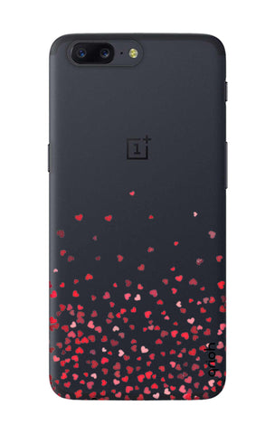 Floating Hearts OnePlus 5 Cases & Covers Online