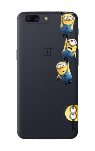 Falling Minions OnePlus 5 Cases & Covers Online