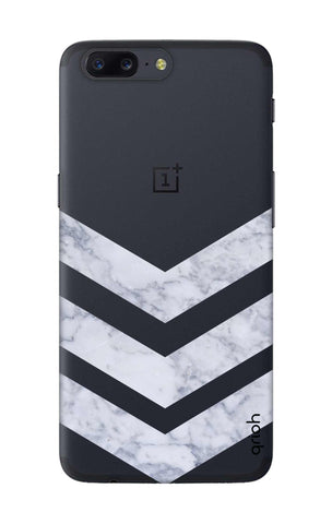 Marble Chevron OnePlus 5 Cases & Covers Online