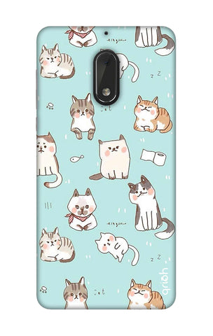Cat Kingdom Nokia 6 Cases & Covers Online