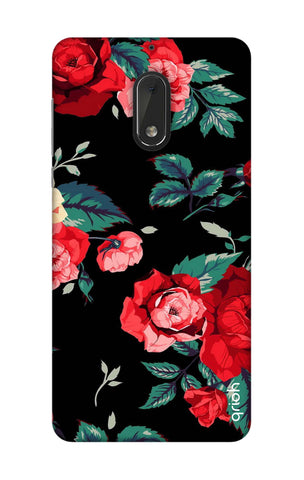 Wild Flowers Nokia 6 Cases & Covers Online
