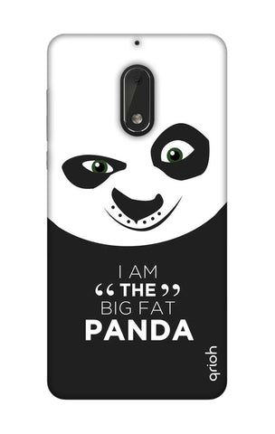 Big Fat Panda Nokia 6 Cases & Covers Online