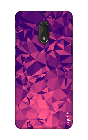 Purple Diamond Nokia 6 Cases & Covers Online
