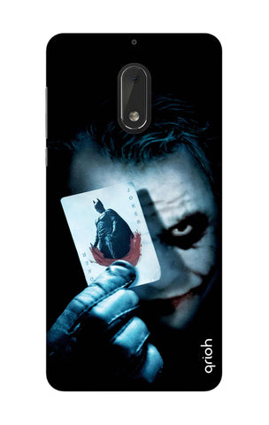 Joker Hunt Nokia 6 Cases & Covers Online