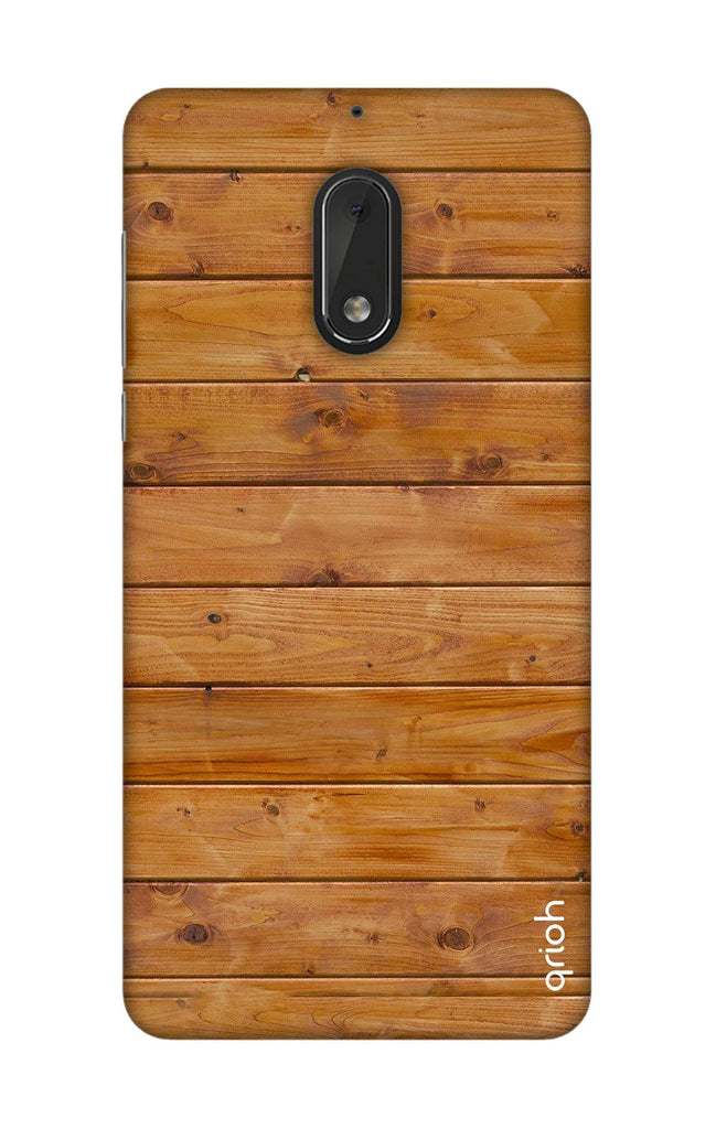 the best attitude f2ef7 d9ba7 Natural Wood Case for Nokia 6