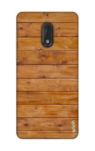 Natural Wood Nokia 6 Cases & Covers Online
