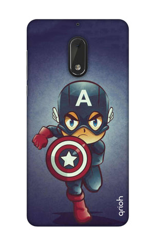 Toy Capt America Nokia 6 Cases & Covers Online
