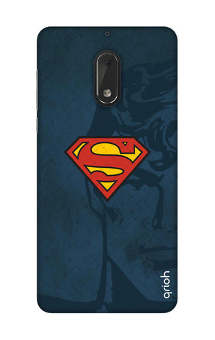Wild Blue Superman Nokia 6 Cases & Covers Online